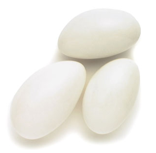Jordan Almonds - White